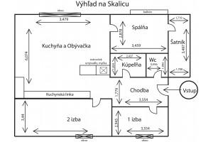 Exkluzívna predrezervácia 4 izbový byt Skalica