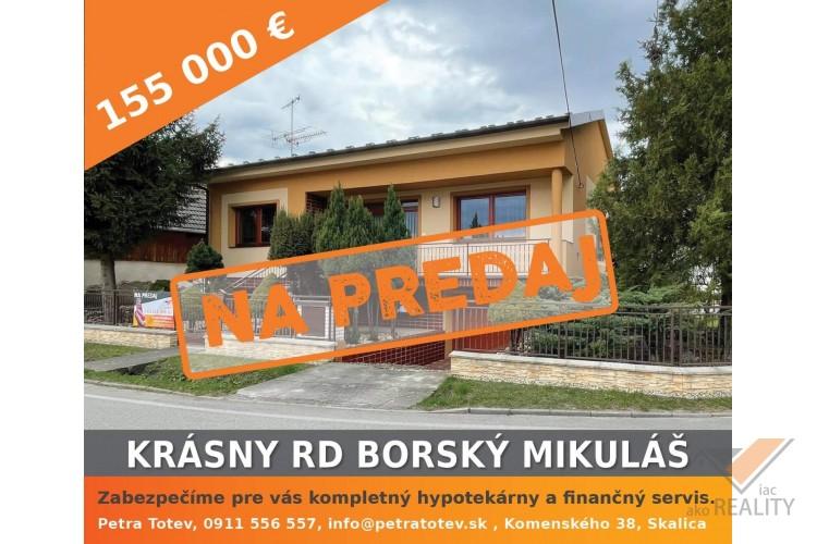 Krásny RD v Borskom Mikuláši