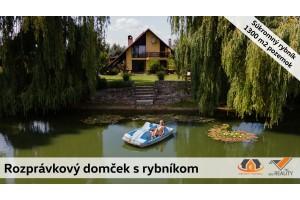 Rozprávkový RD s rybníkom, Kopčany - Cunín